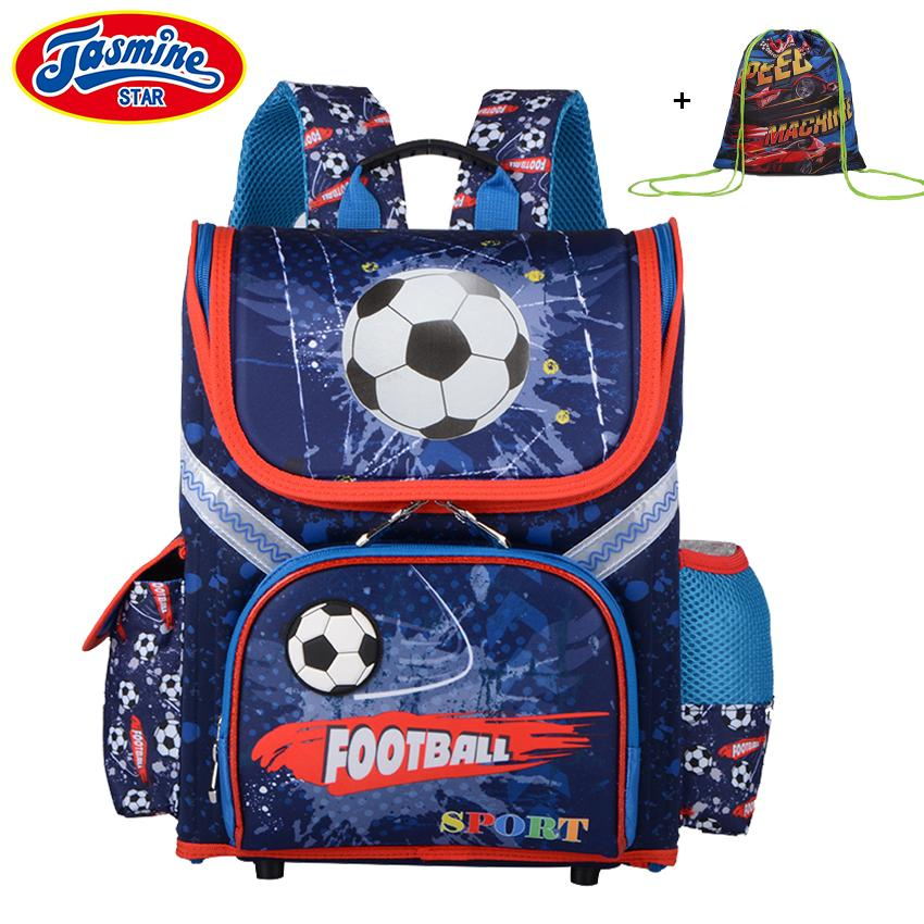 62525e92c478 JASMINESTAR Grade 1 3 5 Boys Backpack School 2018 New Children Cartoon  Orthopedic School Bag For Boy Backpack Kids Y18120601 Durable Cute Backpacks  Student ...