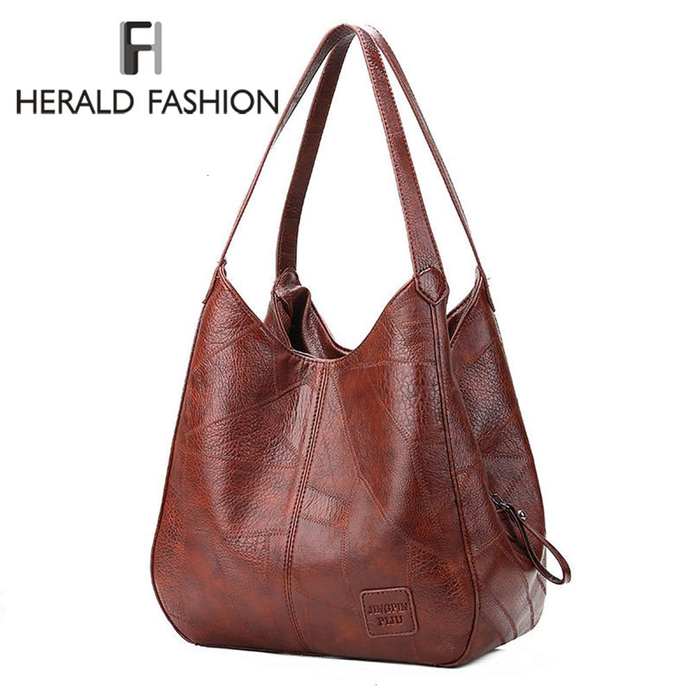Large Capacity Leather Shoulder Bag For Women 2019 Luxury Handbags Women bags Designer Office Casual Fashion Female Totes