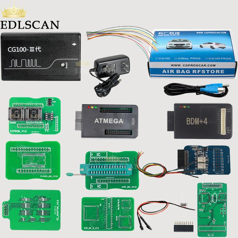 EDLSCAN standard version CG100 airbag reset/restore tool support Renesas  and instrument calibration and ECU reprogramming