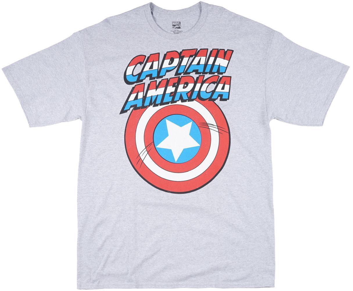 b2ecb919e17 Compre Marvel Avengers Capitán América Logo Shield Camiseta De Hombre BIG  TALL Cool Casual Pride Camiseta Hombre Unisex A $13.91 Del Cls6688521 |  DHgate.Com