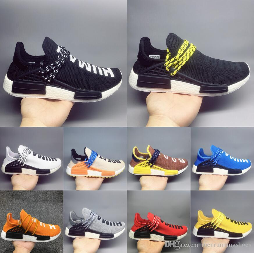 21b373cec 2019 Cheap Wholesale NMD HUMAN RACE Pharrell Williams X Ink 2016 ...