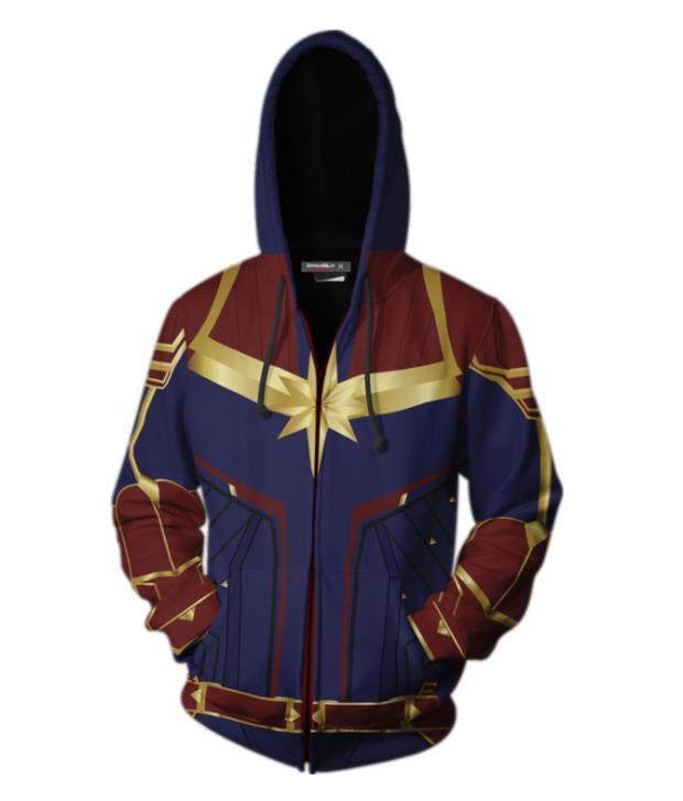 57c4a1007 Avengers Endgame 4 para hombre sudaderas con capucha de moda impresas en 3D  sudaderas Capitán Marvel Ropa para hombre Nueva llegada