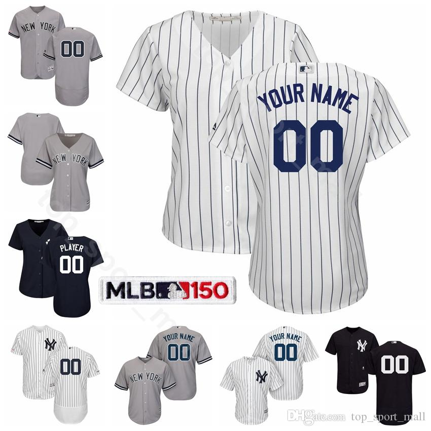 new product 61fe4 07b50 Man Woman Youth Yankees Baseball Gleyber Torres Jersey Luke Voit Gary  Sanchez Greg Bird James Paxton Babe Ruth Lou Gehrig Mariano Rivera