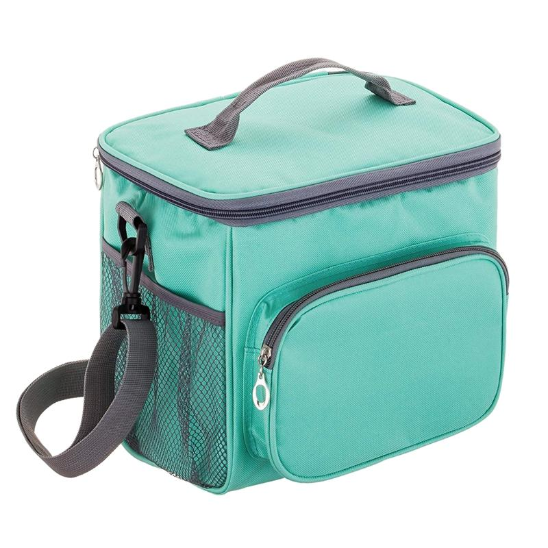 6c8eaa1d4daa Adult Lunch Bag Insulated Lunch Box Cooler Tote Bag for Men & Women, Double  Deck Heat-Resistant Coolers with Adjustable Should