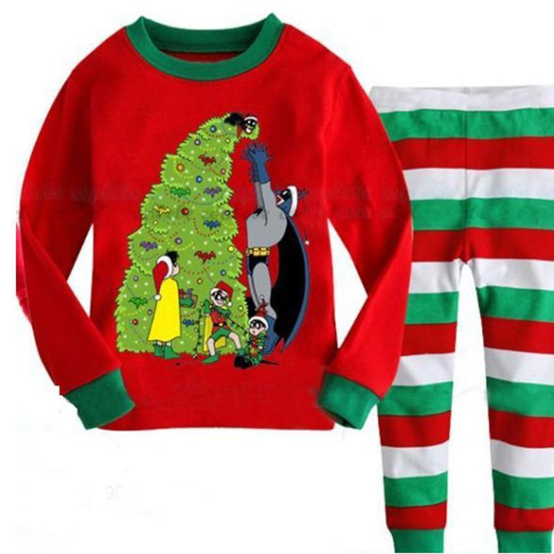 3dd053cd56 Children S Clothing Set Kids Christmas Pajama Set Cartoon Boys Sleepwear 2  7 Years Kids Pyjamas Infant Baby Boy Pijama Suit Boys Christmas Pajamas  Sale ...