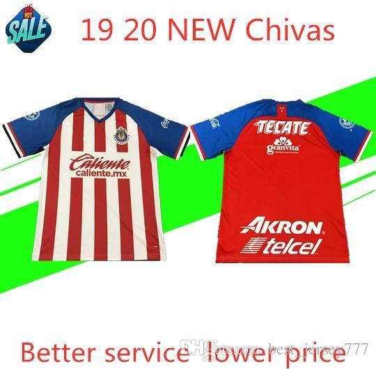 new styles 4fec5 fe910 Chivas new jersey de Guadalajara soccer jersey 2019 20 A.PULIDO home away  third world cup O.PINEDA E.LOPEZ I.BRIZUELA man Football shirt