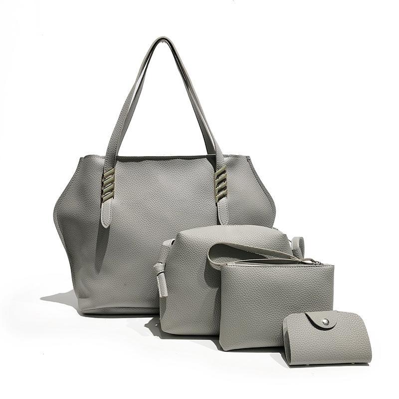 c98be681a450 Женщины сумка набор кожаные сумки женские повседневные сумки Crossbody сумки  для женщин сумка Сумка сцепления Bolsa Feminina