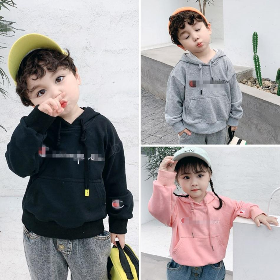 C Letter Brand girls boys hoodies Kids Cotton designer Hooded sweater Pullover Top children students Sweatshirt kids fall Clothing LJJA2895