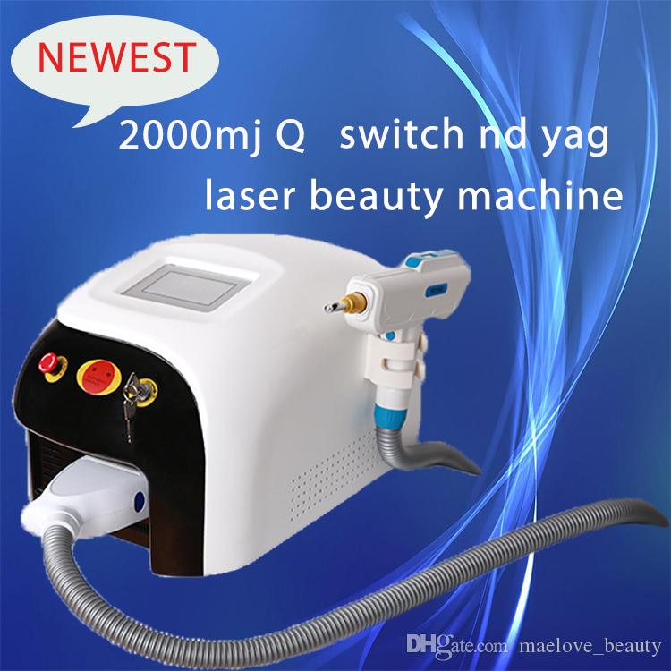Professional Touch Screen ND Yag Q Switch laser Hair Tattoo removal Pigment Spot Scar Removal Skin Rejuvenation Beauty Machines CE DHL