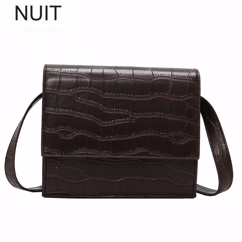 c2dc0b928b8d Stone Fashion Female Big Tote Bag Quality PU Leather Women S Large Handbag  Crocodile Pattern Shoulder Messenger Crossbody Bags Leather Bags Designer  Purses ...