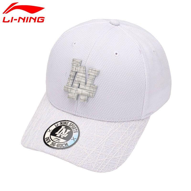 9987091d2cbb5 2019 Unisex Urban Sport Baseball Caps 100% Polyester LiNing Sports Hats  AMYM082 PMS087 From Wavewind
