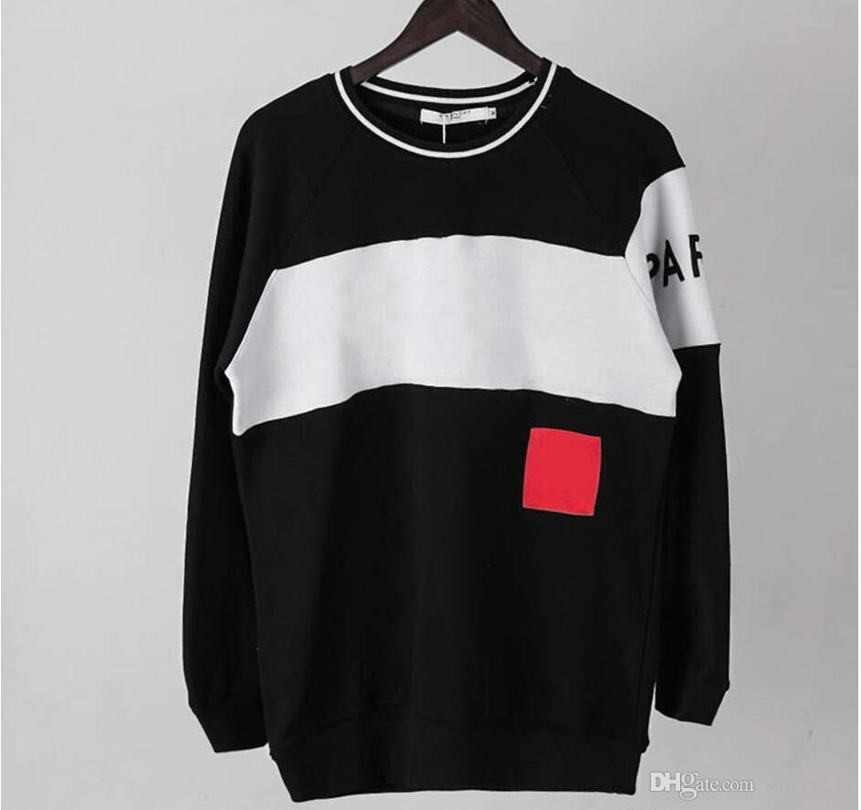 d29c84384 2019 Brand Hoodie Spring Hoodies Men Women Religious Outerwear Coats Hip  Hop Skateboard Jacket Crew Neck Clothes Black Red Sweatshirts From  Singer235, ...