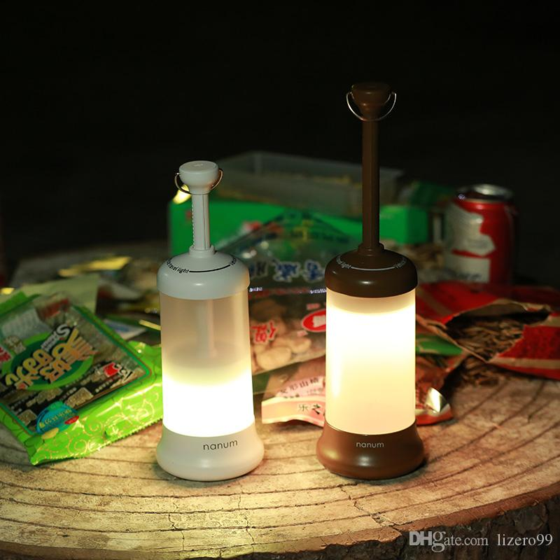 2019 Outdoor LED Camping Light USB Charging Flashlight Tent