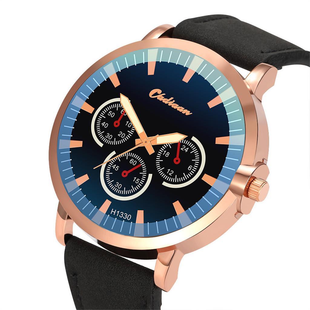 2ec2360fe023 Compre Reloj Hombre 2019 Venta Caliente Reloj Hombres Moda Banda De Cuero Relojes  De Cuarzo Reloj De Pulsera De Lujo Reloj Casual Marca Superior Montre ...