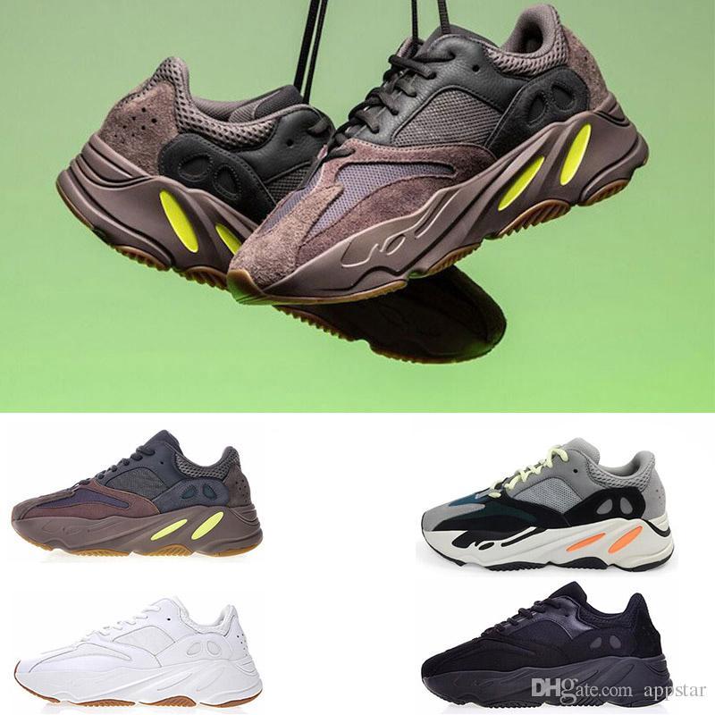 e2493ff64 700 Runner 2019 New Kanye West Mauve Wave Mens Women Running Shoes ...
