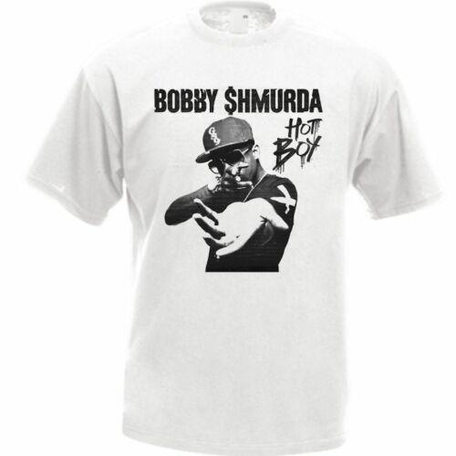 Bobby Shmurda Shmoney Dance Hot Boy Men'S T Shirt Tee Rap Hip Hop