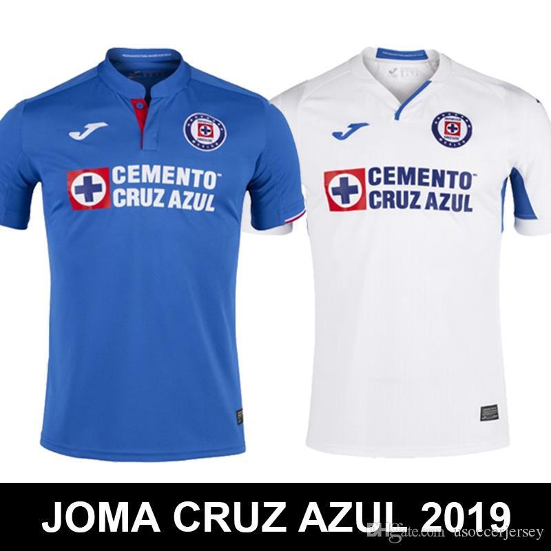 97d7fc880c6e7 Compre NOVO 2019 MAQUINA CELESTE DE CRUZ AZUL JOMA México Clube Liga MX  CDSC Cruz Azul Camisas De Futebol Camisa De Futebol Camisetas De Futbol  Tops De ...