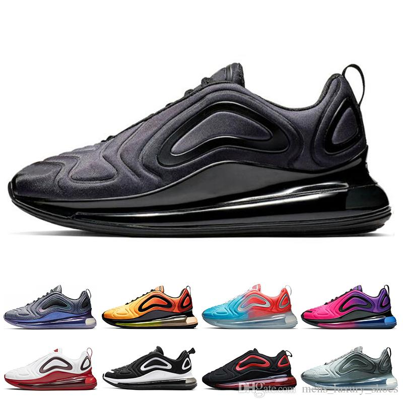 nike air max 720 Total Eclipse Sea Forest Hombres Mujeres Zapatos para correr Volt Northern Lights Day Sunrise White Hombres Zapatillas de deporte