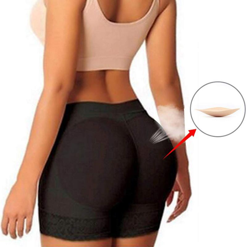 0832cbc92 NINGMI Control Panties Women FAKE ASS Butt Lifter Hip Enhancer Booty Padded  Underwear Panty Body Shaper Waist Trainer Boyshorts Control Panties Cheap  ...