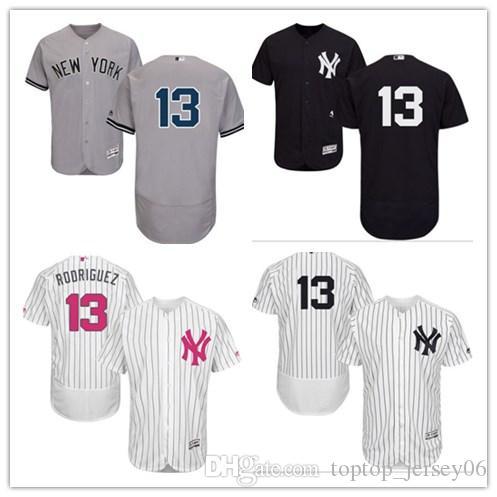 2019 2018 New York Yankees Jerseys  13 Alex Rodriguez Jerseys  Men WOMEN YOUTH Men S Baseball Jersey Majestic Stitched Professional  Sportswear From ... 8337e891aad