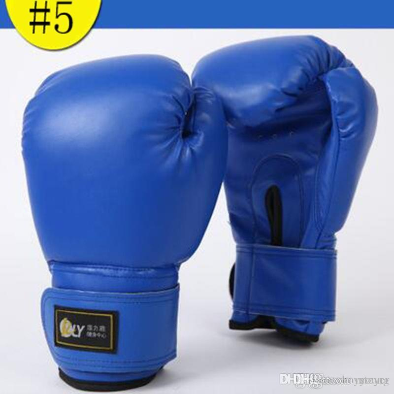 HOT Boxing Gloves Muay Thai Training Mitt UFC Fight Gloves MMA Free Combat  Punching Bag With Professional Boxing Match