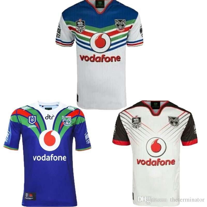 super popular 78f7f 4f030 2018 New Zealand Warriors Rugby Jerseys 2019 NRL Home and Away Warriors  Shirts Australia National Rugby League Tops Size S-3XL Fast Shippin