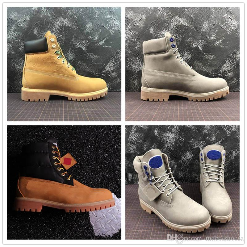 9461b8a20dc9 2019 Limited TBL Bap X Undefeated Face Boots Men Designer Shoes ...