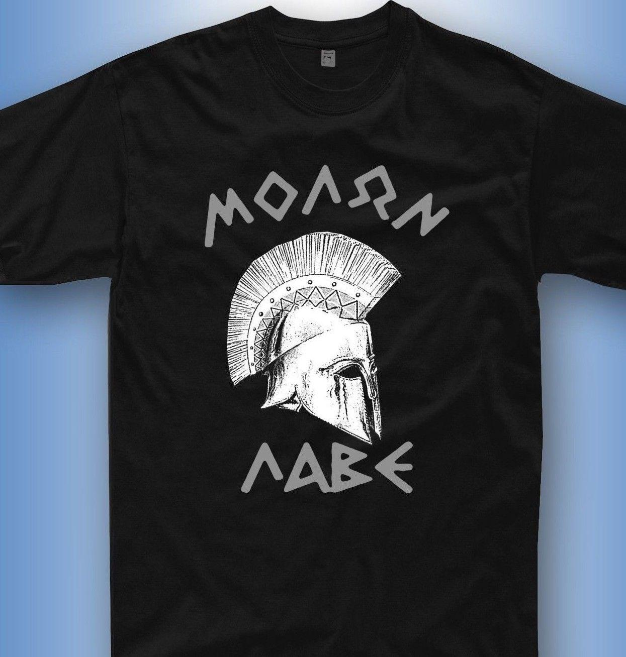 Molon Lave T Shirt Sparta Spartaner Krieger Gym Greece Griechenland Tshirt  T Shirts Best Best Funny Shirts From Happytshirt53,  11.58  DHgate.Com 876058ee94