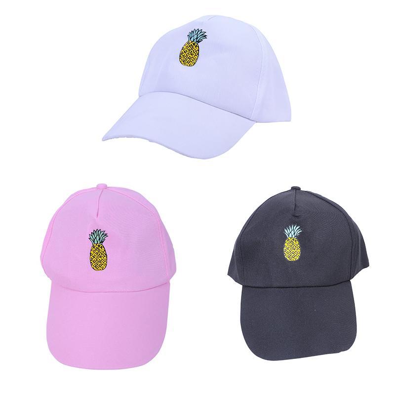 3a9eefadb Cartoon Fruit Pineapple Print Baseball Cap Cotton Hipster Hat Fruit  Pineapple Dad Hat Hip Hop Cotton Snapback Cap Hats For Women Baseball Caps  Cheap ...