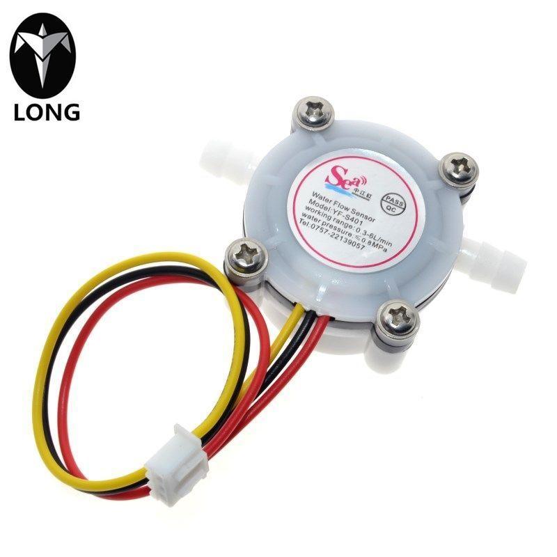 longteng 2017 New Hot Polymer Analog Sensor Water Coffee Flow Sensor Switch Meter Flowmeter Counter 0.3-6l/min