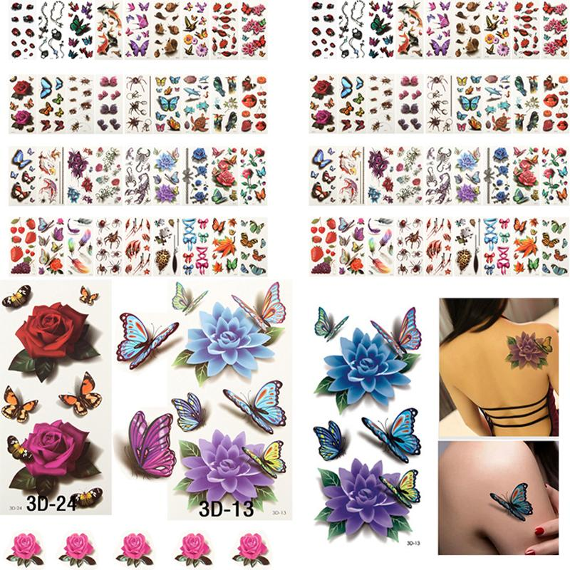 19653ab31b69c Flash Metallic 100 Sheets Health Beauty Body Art Temporary S Gold Flash  Metallic Tattoo Sticker Henna Women Jewelry Tattoo Waterproof Starline  Tattoo ...