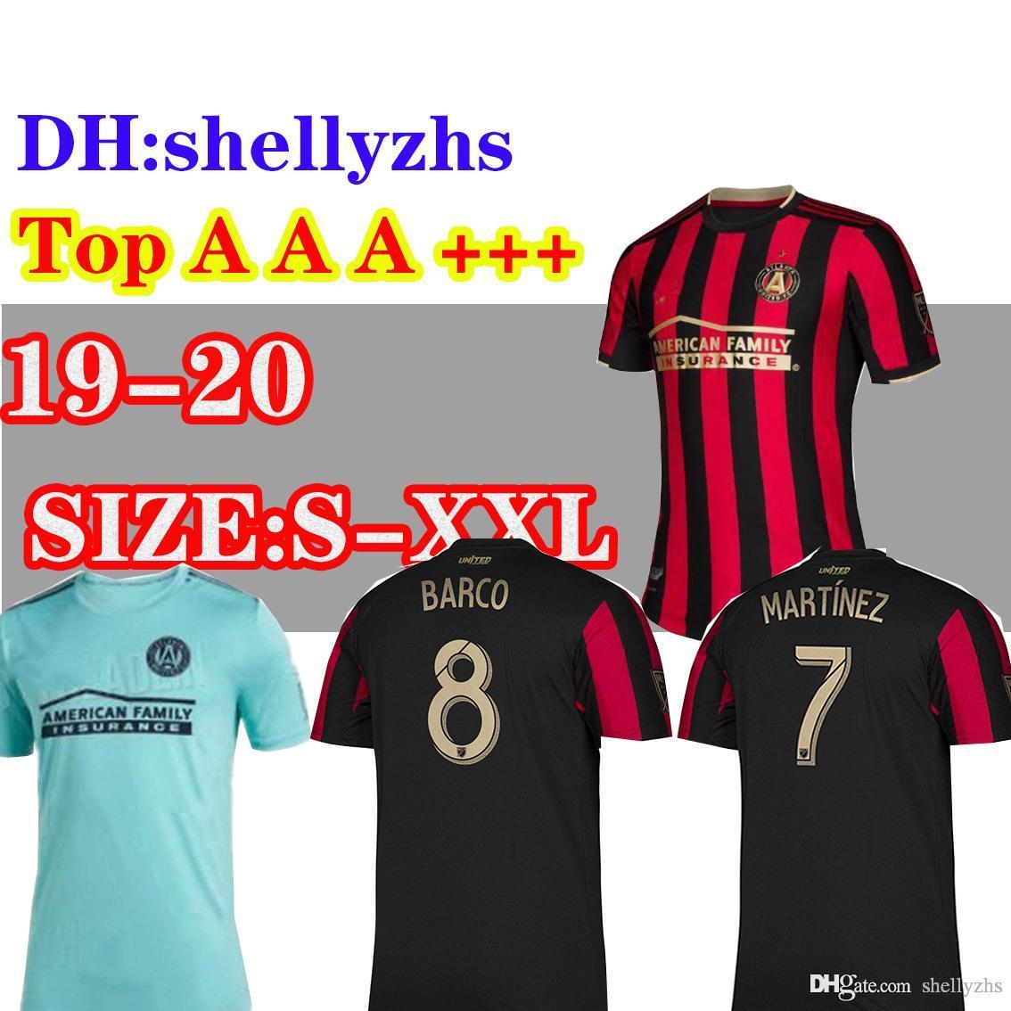 reputable site 8982c 247c8 Parley MLS 2019 20 Atlanta United FC jersey ALMIRON MARTINEZ home away  soccer jerseys 19 20 VILLALBA Atlanta BARCO away football shirt