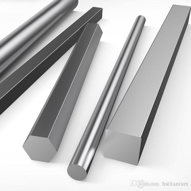 ASTM B348 GR5 titanium alloy bar price square bar with stock in good  quality Titanium Square Bar/Rod Titanium Price Per Kg