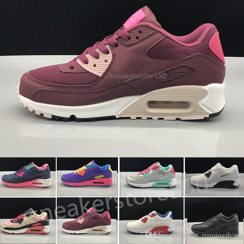db2d8bf79 Women Sneakers Casual Shoes Classic 90 Women And Woman Shoes Sports ...