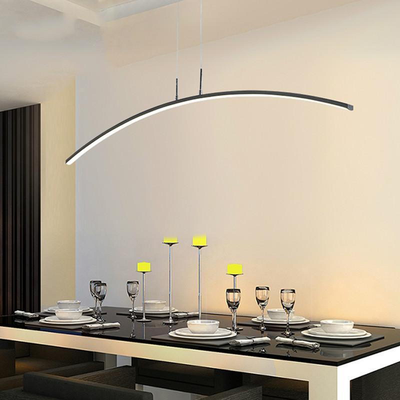 Acquista Moderne Luci A Sospensione A LED Cucina Sala Da Pranzo Cavo ...