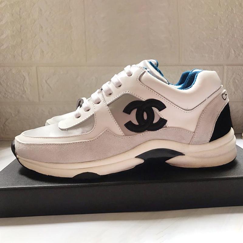 4e980f5f750 Compre Zapatos Para Mujer De Moda Zapatillas De Deporte De Lujo ...