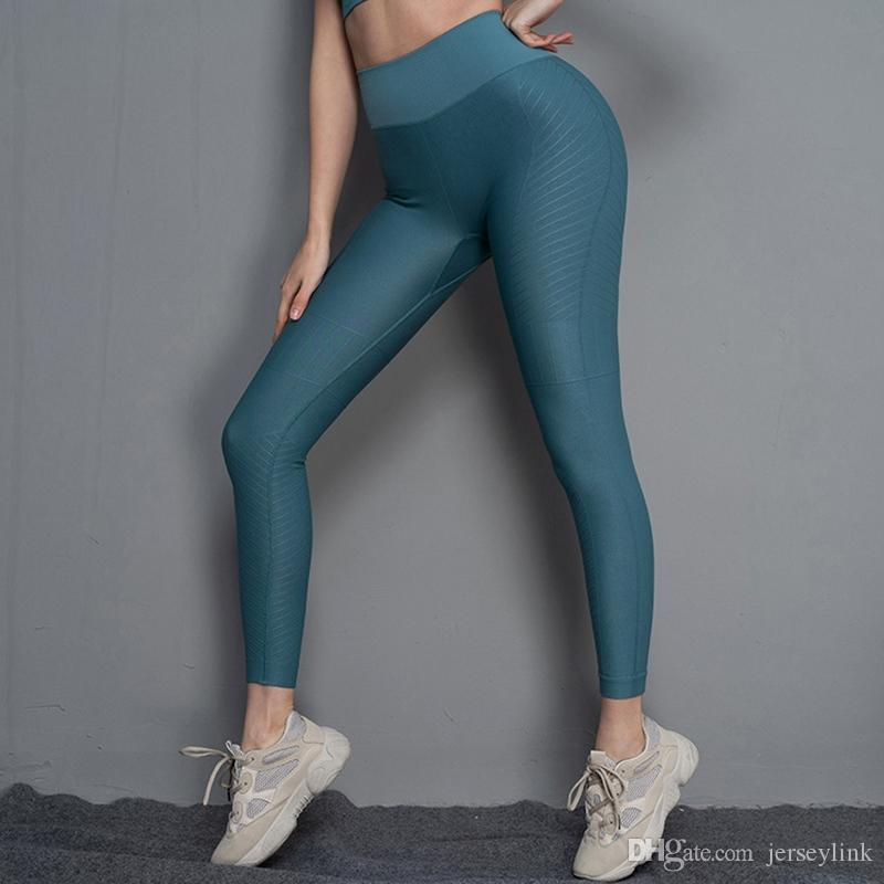 76f9ff8e57a2a6 2019 Women Seamless Leggings Compression Yoga Pants Women Gym Tight Fitness  Leggings Push Up Stretch Sport Trousers Bra Running Pant #20027 From  Jerseylink, ...
