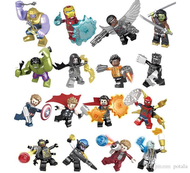Lego Marvel Set #76107 Reality Infinity Stone for Thanos Gauntlet Authentic