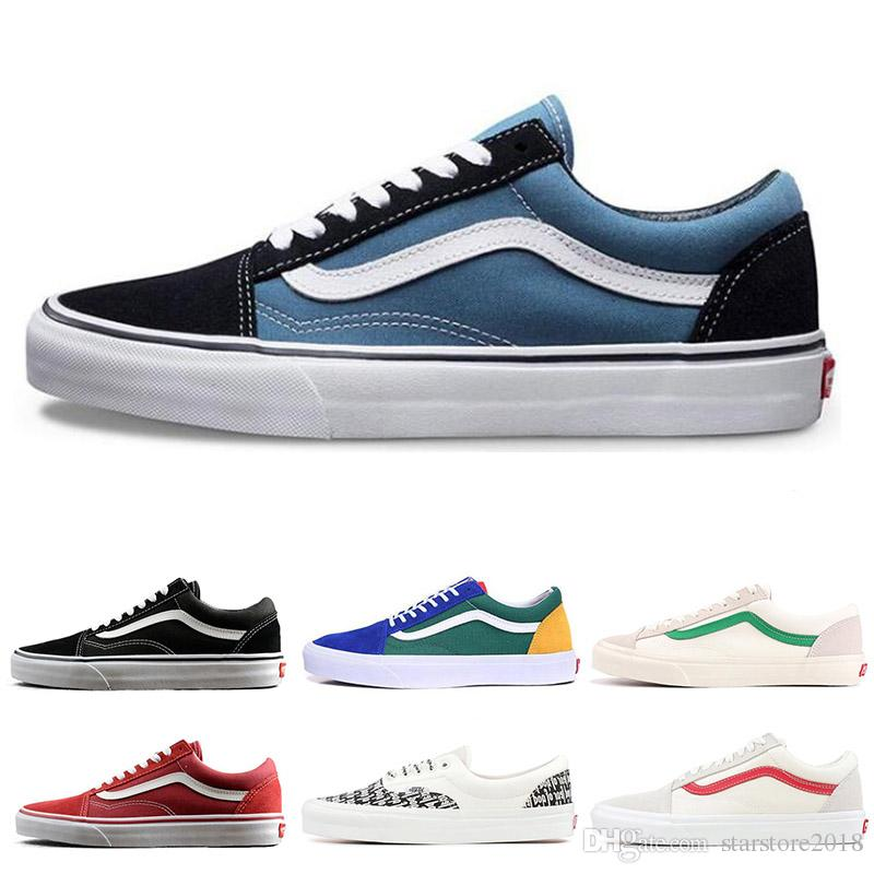 ef2e533714 2019 Fashion YACHT CLUB Vans Old Skool FEAR OF GOD Black White MARSHMALLOW  Green PRIMAR Men Women Sneakers Fashion Skate Casual Shoes 36 44 From ...