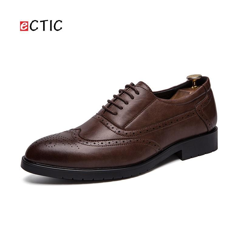1bf81514bc3fa ECTIC Delicate Classic Bridal Elegant Italian Men Brogues Calcado Masculino  Handsome Formal Dress Shoes Wedding Obuv Womens Sandals Orthopedic Shoes  From ...