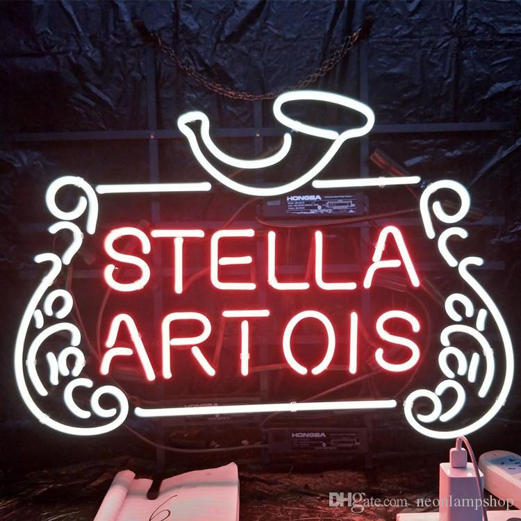 Stella Artois Led Neon Sign Light Custom Outdoor Bar Display