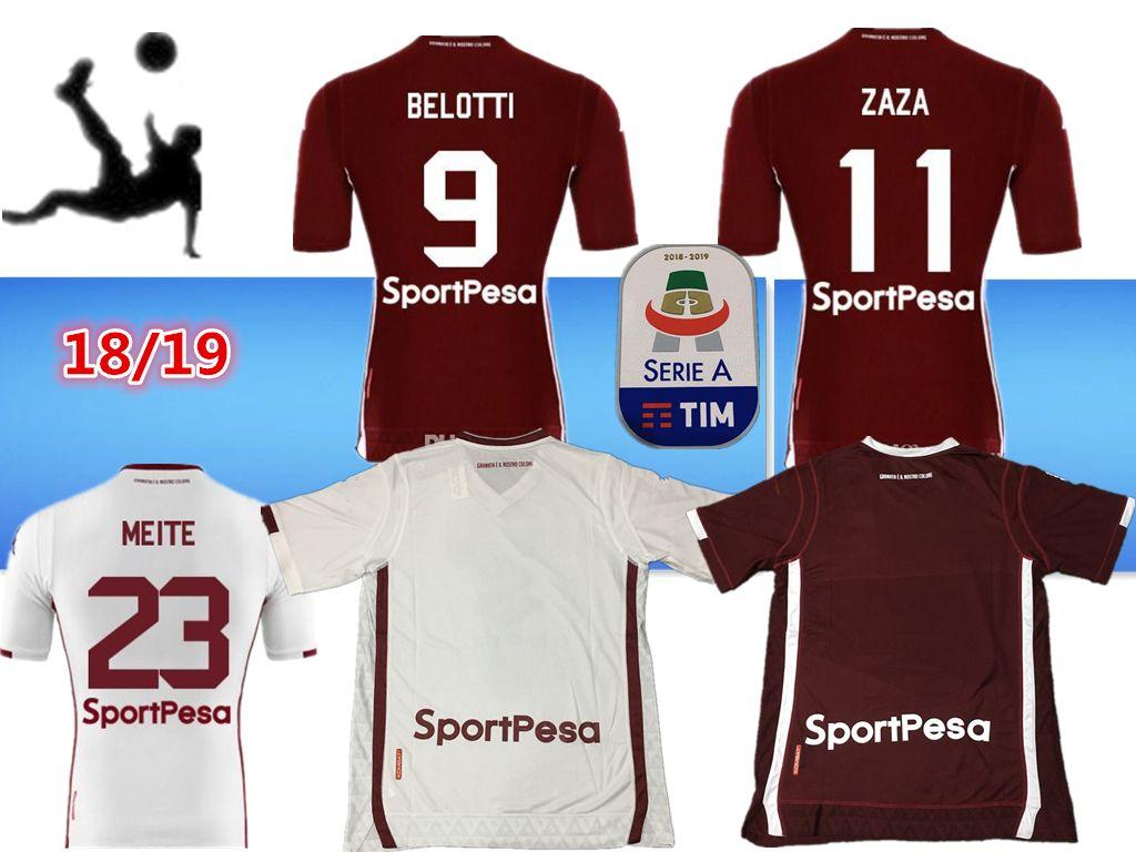 9004683b153fc 2018 2019 NOVEDADES Camisetas De Fútbol De Torino Adultos Zaza Rojo Soriano  Belotti I.Falque Meite Camiseta De Fútbol Camiseta De Hombre De Torino FC  Sobre ...