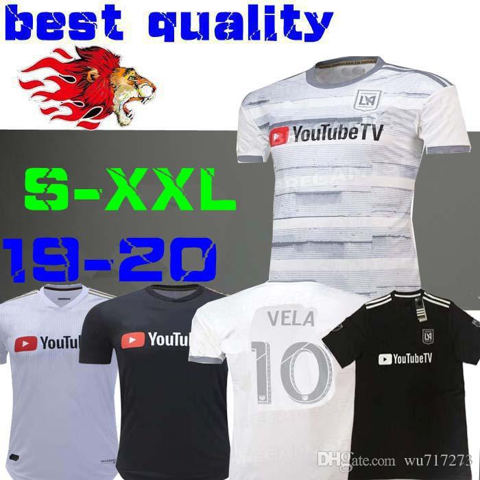 cc3ee97d657 2019 2019 LAFC Carlos Vela Soccer Jerseys 19 20 GABER ROSSI CIMAN ZIMMERMAN  Home Away Football Shirt Special Edition Black Size S XXL From Wu717273