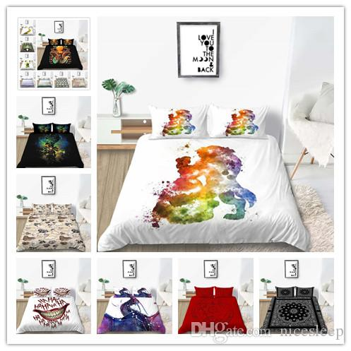 New Products bedding sets Classic bed linen 4pcs/set duvet cover set Single Double King Size