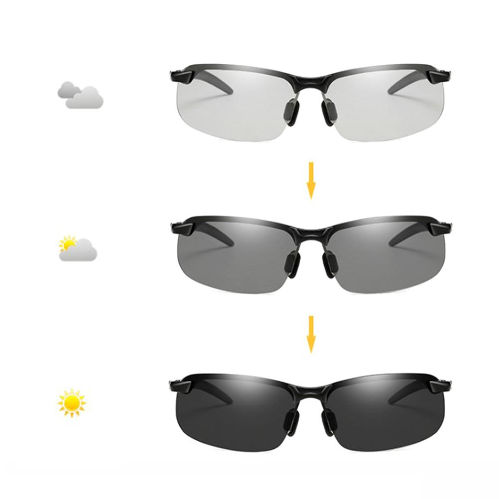 33eb8bea0a Photochromic Sunglasses Men Polarized Chameleon Glasses Male Change ...