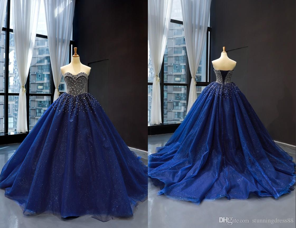 cce1492e356 Sparkly Bling Sequin Tulle 2019 Quinceanera Prom Dresses Ball Gown Cheap  Sweetheart Corset Rhinestones Crystal Evening Party Sweet 16 Dress Green ...