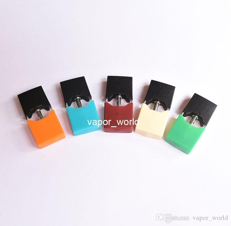 0 7ML Dis-assembled Empty Ceramic coil Pod cartridge For JUUL kit, case,  compatible with Juul battery
