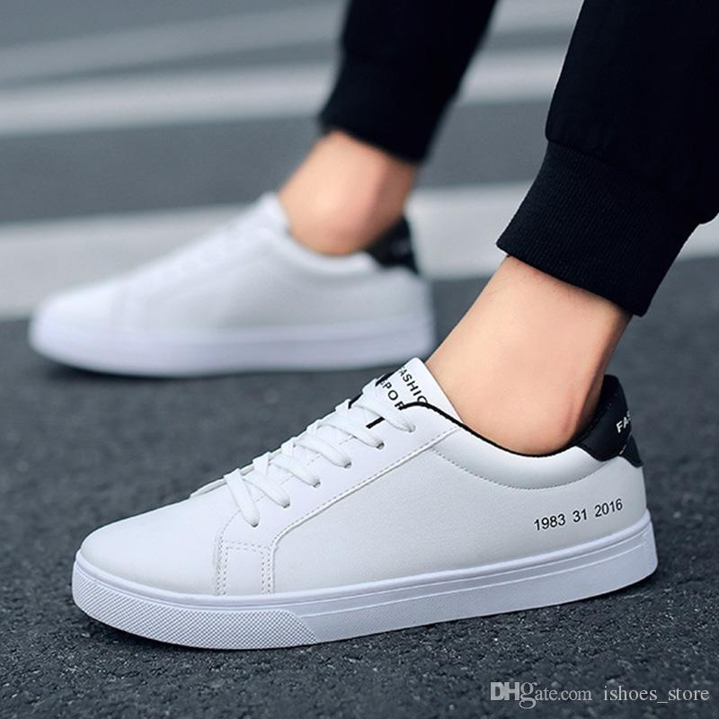 Primavera Marca Ka793228905 Street Zapatos Calzado Casuales Cool 2019 Blancos Hombres Zapatillas Hombre 8nvm0wON