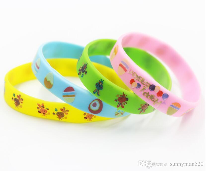 2019 New Fashion Environmental Cartoon Pattern Bracelet Wristband Bangle  Birthday Party Home Jelly Jewelry Gift From Sunnyman520 aaf67725b2de
