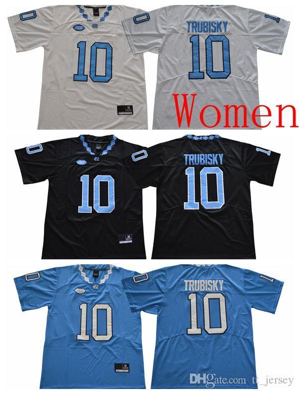 fde2cbeae5e 2019 NCAA Women Jersey North Carolina Tar Heels 10 Mitchell Trubisky  College Football Jersey High Quality Custom Woman Sport Jerseys From  Tt_jersey, ...